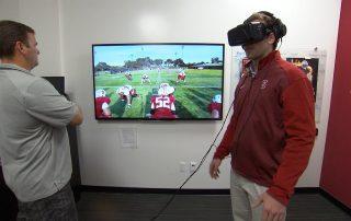 virtual reality sports training