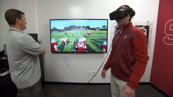 virtual reality sports training