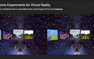 google chrome virtual reality